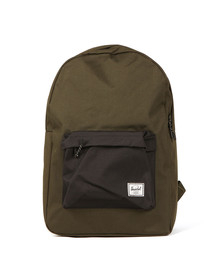Herschel Mens Green Classic Backpack