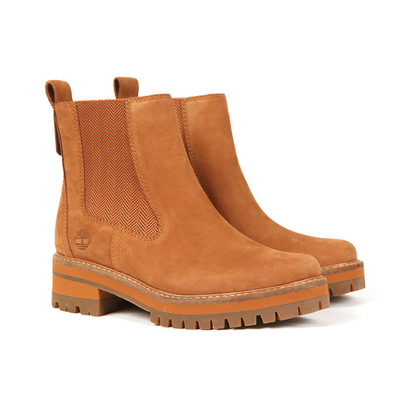 Timberland Womens Brown Courmayeur Valley Chelsea Boot main image