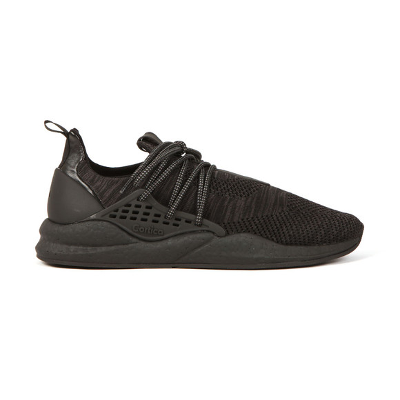 Cortica Mens Black Intuous Knit Trainer main image