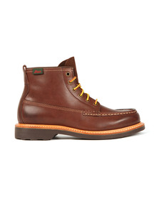 G H Bass & Co Mens Brown Quail Hunter Mid Lace Boot