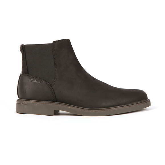 Sebago Mens Black Turner Waterproof Chelsea Boot main image