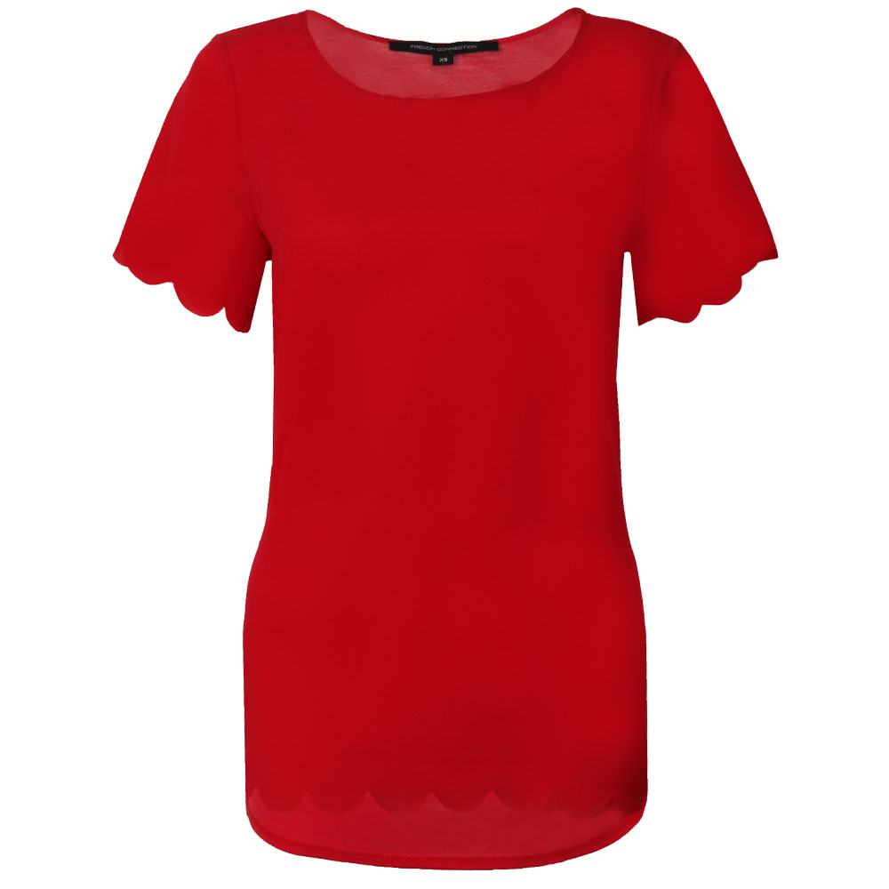 Classic Crepe Short Sleeve Top main image