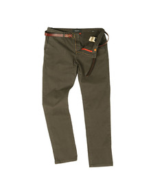 Scotch & Soda Mens Grey Classic Garment Dyed Chino