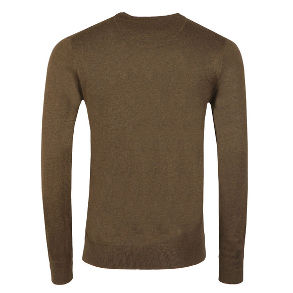 Scotch & Soda Mens Green Classic Crew Neck Pullover main image
