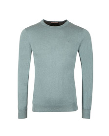 Scotch & Soda Mens Blue Classic Crew Neck Pullover