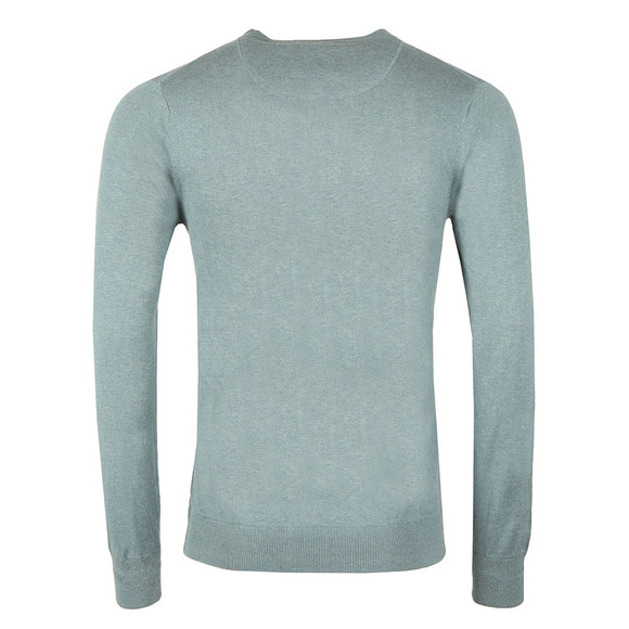 Scotch & Soda Mens Blue Classic Crew Neck Pullover main image