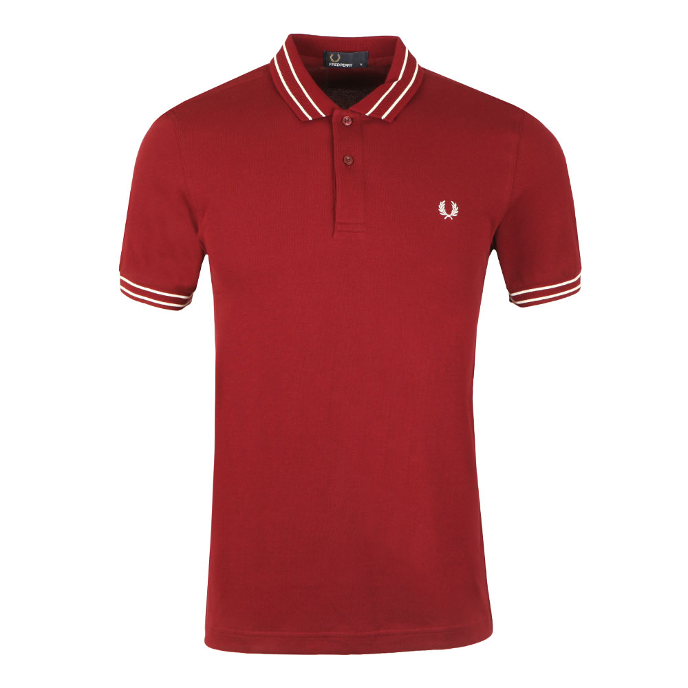 S/S Tramline Tipped Polo main image