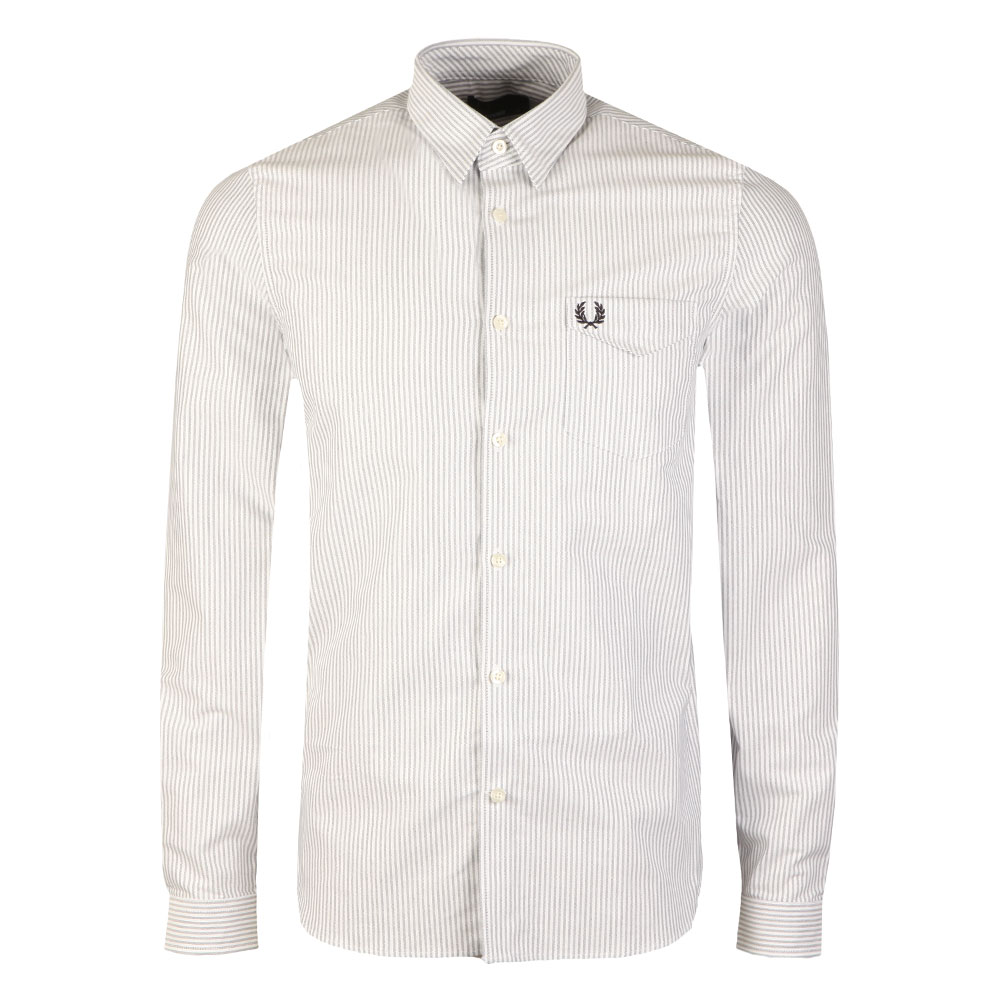 Oxford Stripe LS Shirt main image