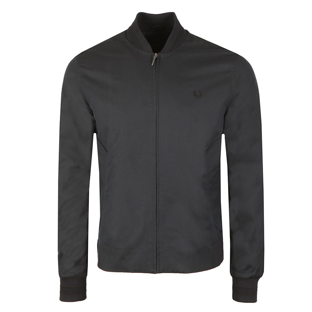 Woven Pique Bomber Jacket main image