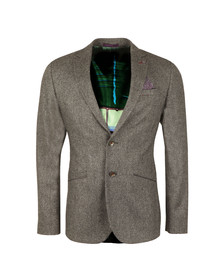 Ted Baker Mens Grey Mini Design Blazer