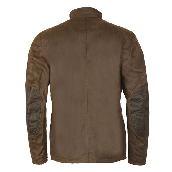 Barbour International Mens Green Weir Wax Jacket main image