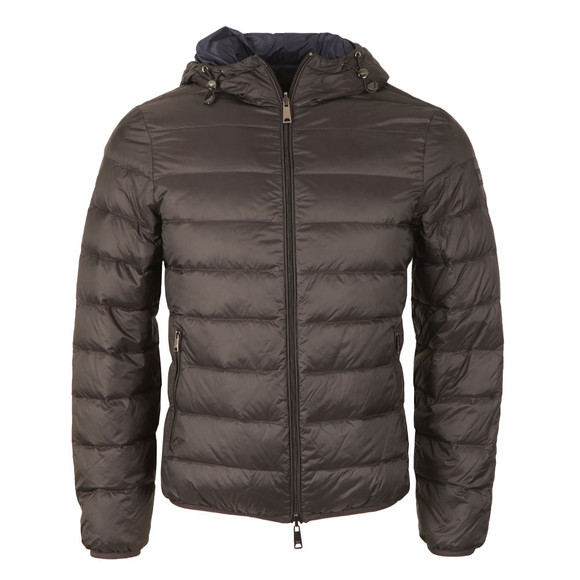 Armani Jeans Mens Black Reversible Down Jacket main image