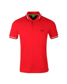 Boss Green Mens Red Paul Polo Shirt