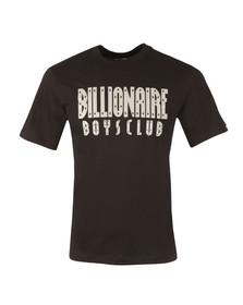 Billionaire Boys Club Mens Black Reflective Logo T Shirt