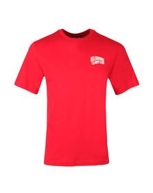 Billionaire Boys Club Mens Red Small Arch Logo T Shirt