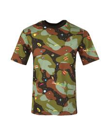 Billionaire Boys Club Mens Grey Space Camo All Over Print T Shirt