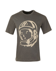 Billionaire Boys Club Mens Grey Military Overdye T Shirt