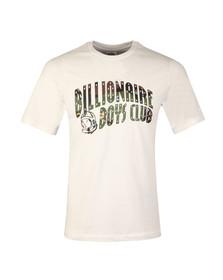 Billionaire Boys Club Mens White Space Camo Arch Logo T Shirt