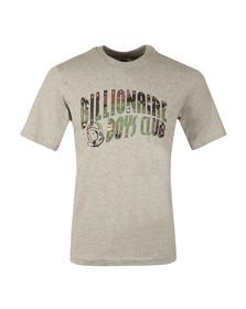 Billionaire Boys Club Mens Grey Space Camo Arch Logo T Shirt