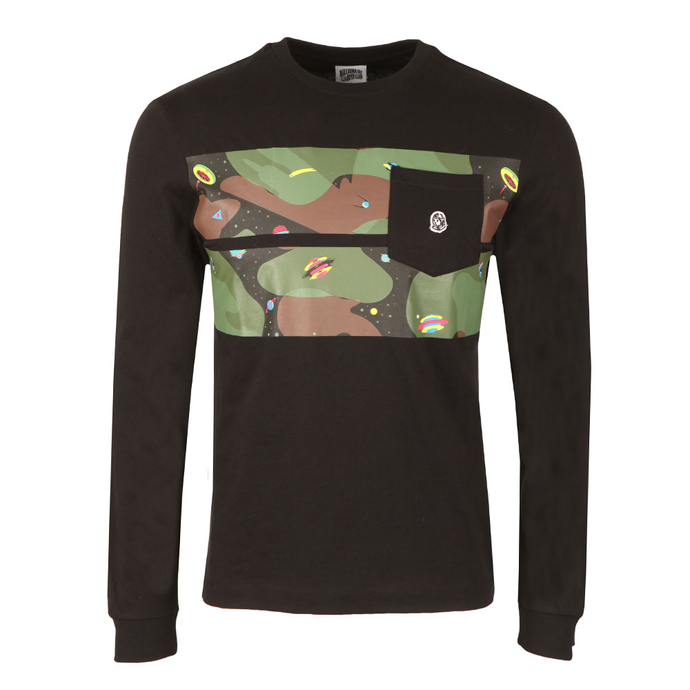 ccc5fb1e6d5b Billionaire Boys Club Space Camo Stripe Long Sleeve T Shirt