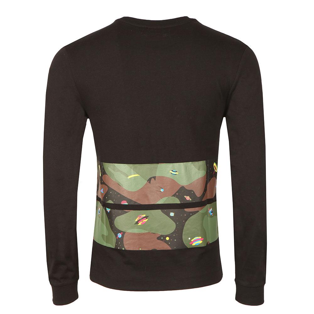 10bcaeb46 Billionaire Boys Club Space Camo Stripe Long Sleeve T Shirt | Oxygen ...