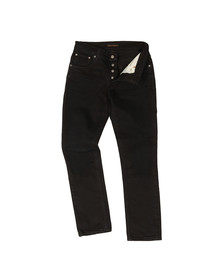 Nudie Jeans Mens Black Grim Tim Jeans
