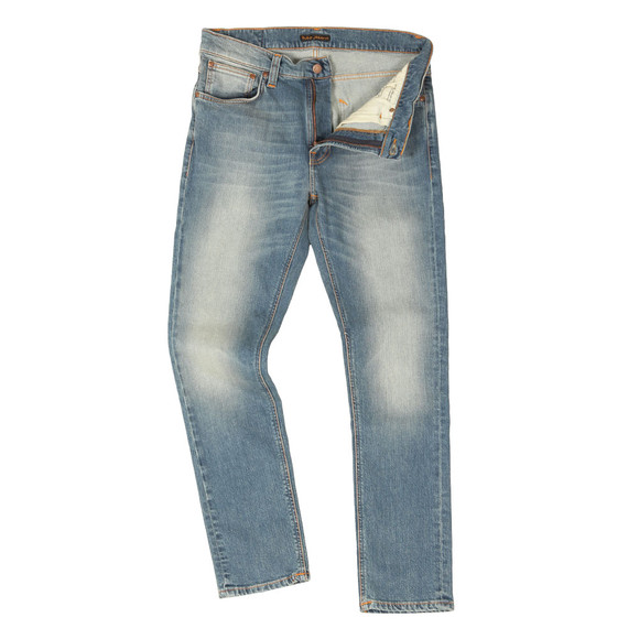 Nudie Jeans Mens Blue Lean Dean Jean main image