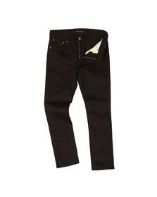 Nudie Jeans Mens Black Lean Dean Jean