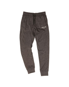 Nicce Mens Black Poly Tech Jogger