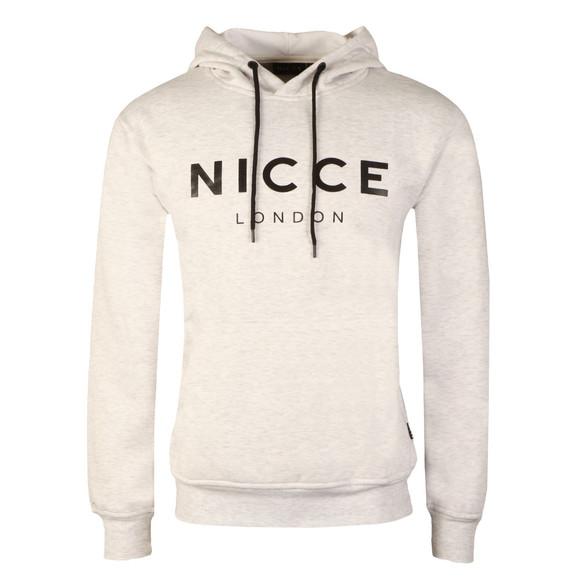 Nicce Mens Grey Original Logo Hoody  main image