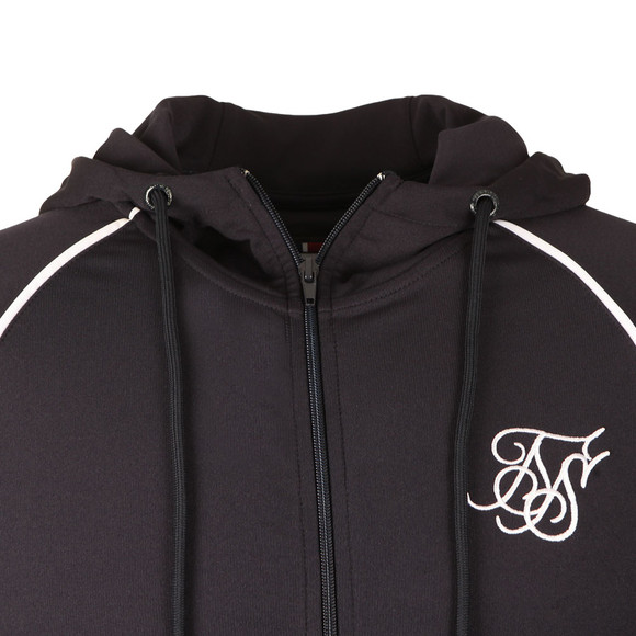 Sik Silk Mens Blue Zonal Zip Through Track Top main image