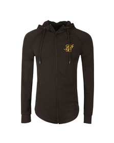 Sik Silk Mens Black Zonal Zip Through Track Top
