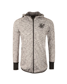 Sik Silk Mens Grey Apex Zip Track Top