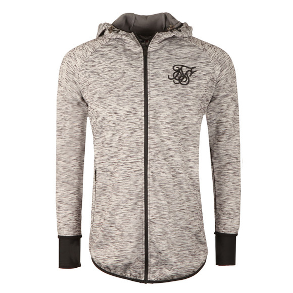 Sik Silk Mens Grey Apex Zip Track Top main image