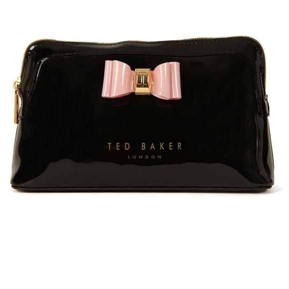 Ted Baker Julis Bow Triangle Make Up Bag   Masdings