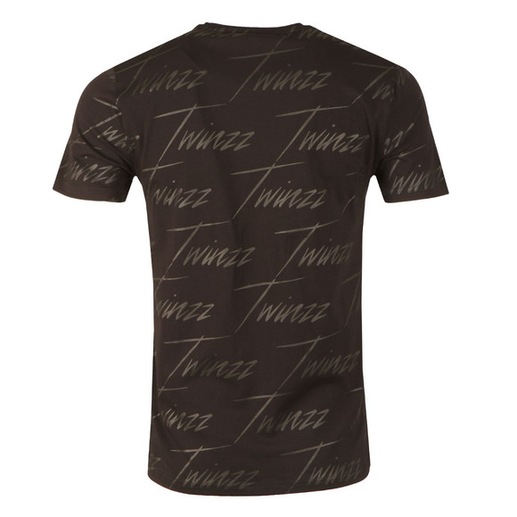 Twinzz Mens Black Brayford Tee main image