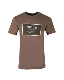 Nicce Mens Grey Est 13 T Shirt