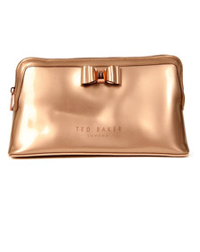 Ted Baker Womens Pink Large Bow Wash Bag