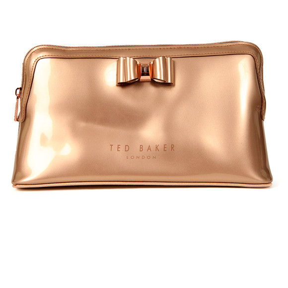 Ted Baker Womens Pink Jana Large Bow Wash Bag main image