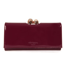 Ted Baker Womens Purple Crystal Pearl Bobble Matinee Purse