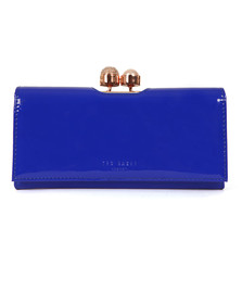 Ted Baker Womens Blue Kattia Crystal Pearl Bobble Matinee Purse