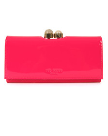 Ted Baker Womens Pink Kattia Crystal Pearl Bobble Matinee Purse