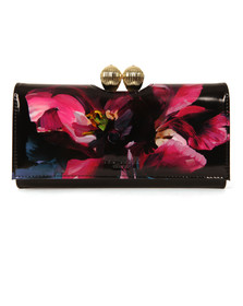 Ted Baker Womens Black Rosia Impressionist Bobble Matinee Purse
