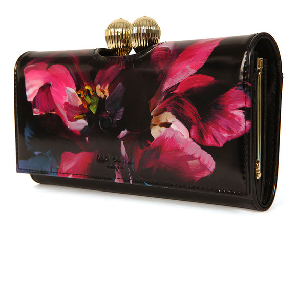 Ted Baker Womens Black Rosia Impressionist Bobble Matinee Purse main image