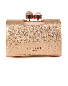 Ted Baker Womens Pink Crystal Pearl Bobble Small Purse