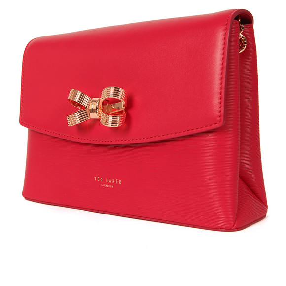 Ted Baker Womens Pink Leiza Looped Bow Cross Body Bag main image