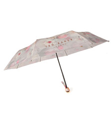 Ted Baker Womens Grey Holls Chelsea Compact Umbrella