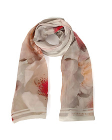 Ted Baker Womens Grey Chleo Chelsea Long Scarf