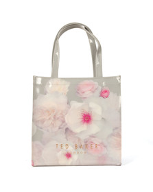 Ted Baker Womens Grey Chelsea Print Large Icon Bag