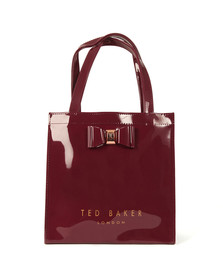 Ted Baker Womens Red Jenacon Bow Detail Small Icon Bag